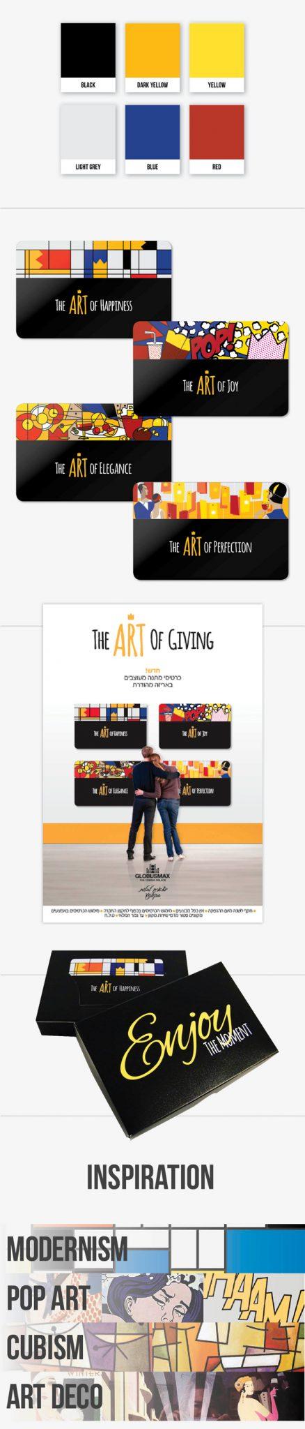 Art Gift Cards design homage cinema