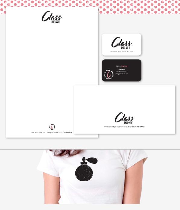 branding logo design class inspiration feminine website style stationary tshirt