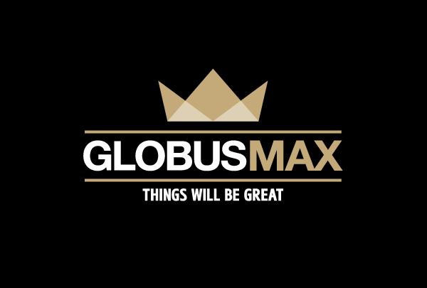 Globus Max logo Rebranding