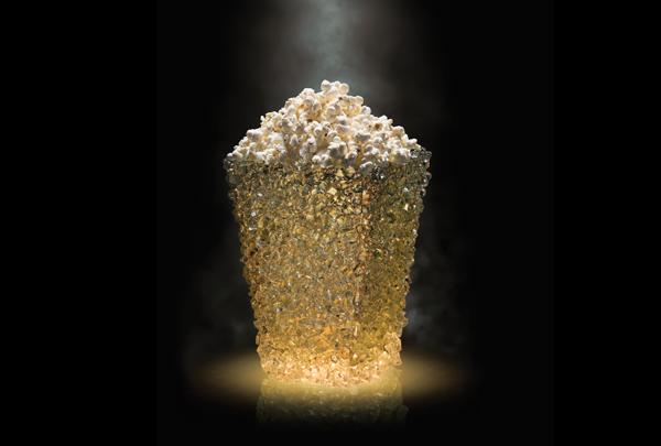 Globus Max Golden popcorn cup