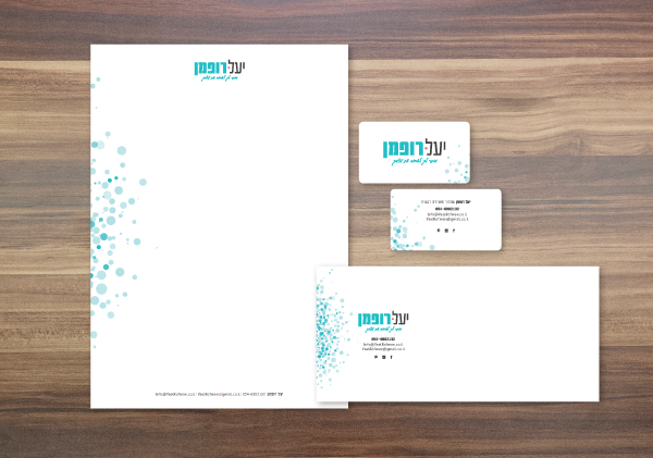 therapist branding yael rofman logo design