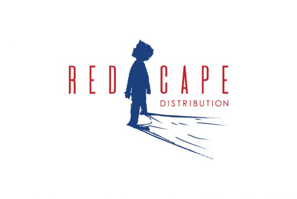 red cape film distribution logo branding