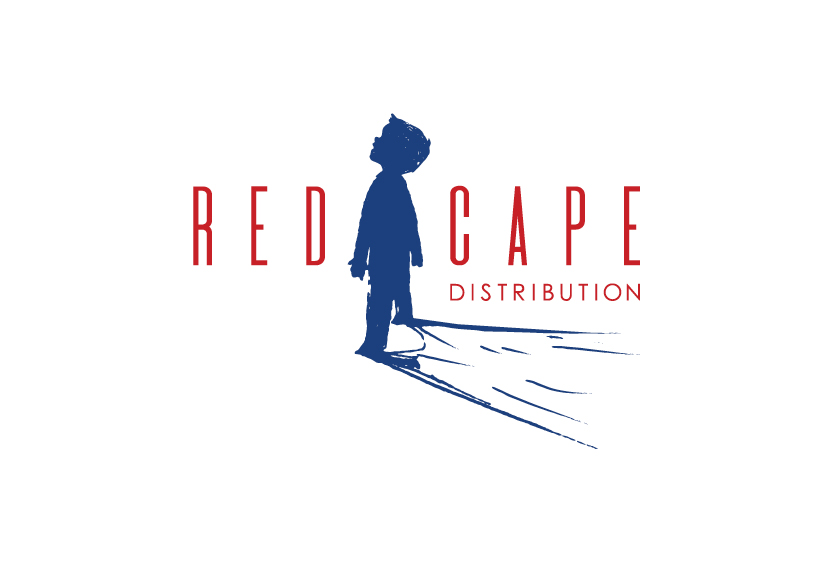 red cape film distribution logo branding