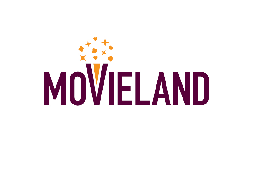 movieland cinema logo branding